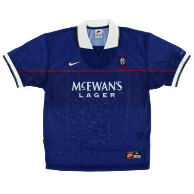 1997-99 Rangers Home Shirt XL