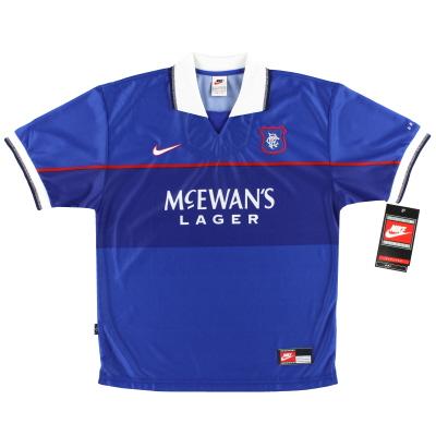 1997-99 Rangers Nike Home Shirt *BNIB* M