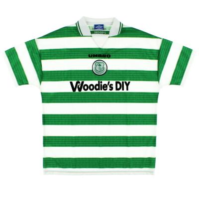 1997-99 Shamrock Rovers Home Shirt XL