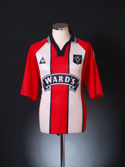 1997-99 Sheffield United Home Shirt XL