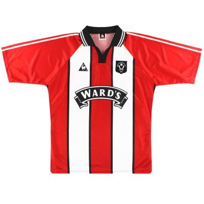 1997-99 Sheffield United Le Coq Sportif Home Shirt L