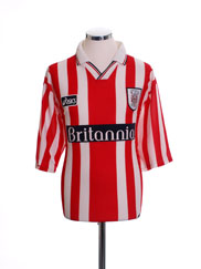 1997-99 Stoke City Home Shirt L
