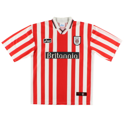 1997-99 Stoke City Asics Home Shirt XXL