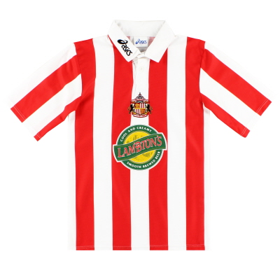 1997-99 Sunderland Home Shirt L.Boys