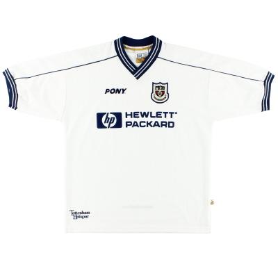 1997-99 Tottenham Pony Home Shirt Ginola XL