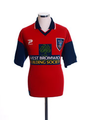 1997-99 West Brom Away Shirt S