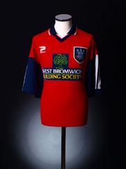 1997-99 West Bromwich Albion Away Shirt L