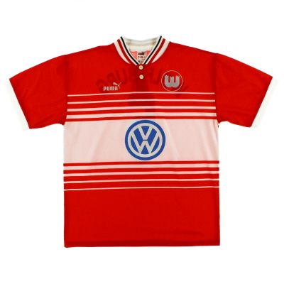 1997-99 Wolfsburg Away Shirt #5 XL