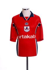 1997-99 York City Home Shirt XL