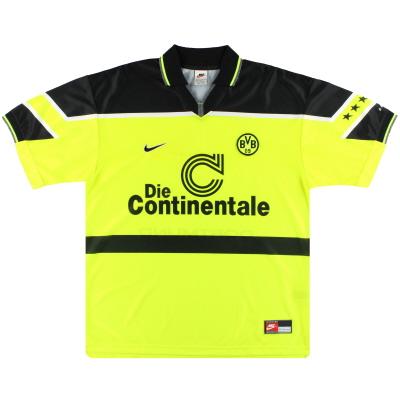 1997 Borussia Dortmund adidas Home Shirt XXL