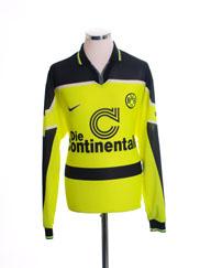 1997 Borussia Dortmund Home Shirt L/S L