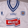 1997 Leicester Coca-Cola Cup Winners Away Shirt *Mint* XL