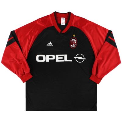 1998-00 AC Milan adidas Training Shirt L/S L
