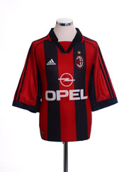 1998-00 AC Milan Home Shirt M