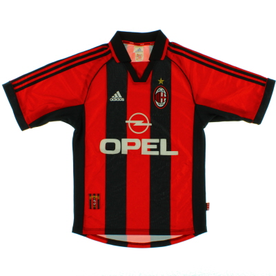 1998-00 AC Milan Home Shirt S