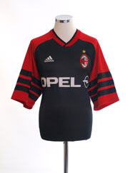 1998-00 AC Milan Training Shirt L