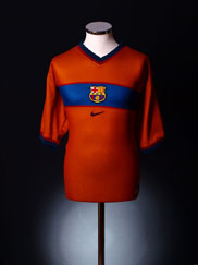 1998-00 Barcelona Third Shirt XL