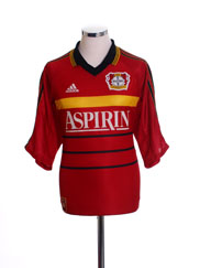 1998-00 Bayer Leverkusen Home Shirt L