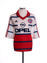 1998-00 Bayern Munich Away Shirt XL