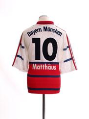 1998-00 Bayern Munich Away Shirt Matthaus #10 XL