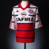 1998-00 Bayern Munich Away Shirt Matthaus #10 XL