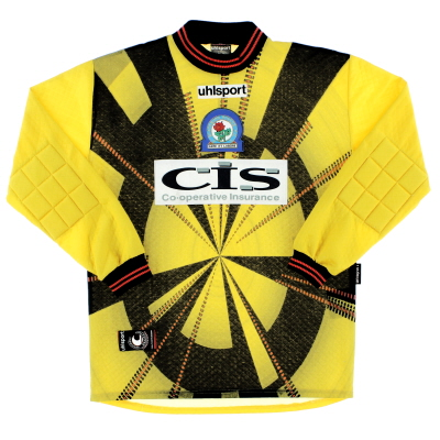 1998-00 Blackburn Uhlsport Goalkeeper Shirt M