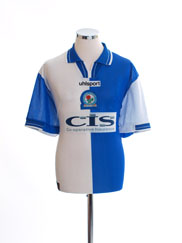 1998-00 Blackburn Home Shirt *Mint* L