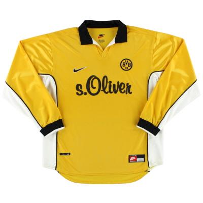 1998-00 Borussia Dortmund Home Shirt L/S L