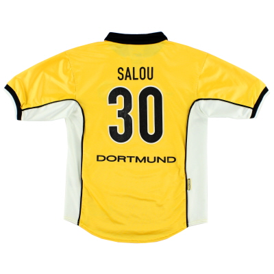1998-00 Borussia Dortmund Home Shirt Salou #30 XL.Boys
