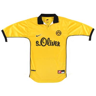 1998-00 Borussia Dortmund Nike Home Shirt M
