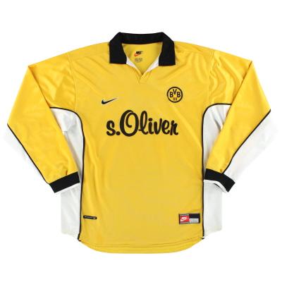1998-00 Borussia Dortmund Nike Home Shirt L/S XL