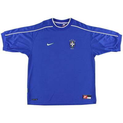 1998-00 Brazil Nike Away Shirt L