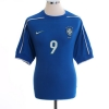 1998-00 Brazil Away Shirt Ronaldo #9 M