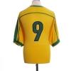 1998-00 Brazil Home Shirt #9 XL