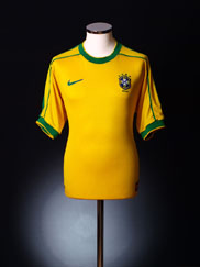 1998-00 Brazil Home Shirt XXL