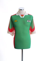 1998-00 Burkina Faso Home Shirt L