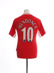 1998-00 Charlton Home Shirt Mendonca #10 M