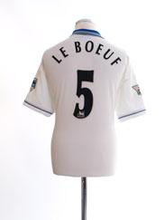 1998-00 Chelsea Away Shirt Le Boeuf #5 XL