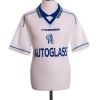 1998-00 Chelsea Away Shirt Sutton #9 L