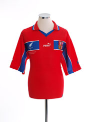 1998-00 Czech Republic Home T-Shirt L