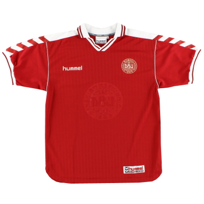 1998-00 Denmark Home Shirt *Mint* M