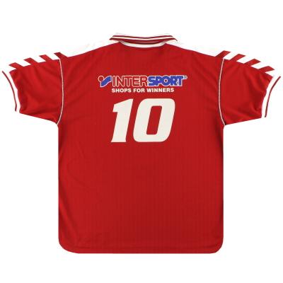 1998-00 Denmark Hummel Home Shirt #10 XL