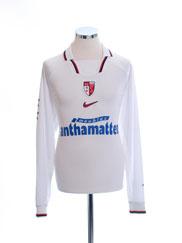 1998-00 FC Sion Home Shirt L/S XL