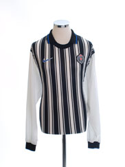 1998-00 FK Partizan Home Shirt L/S *Mint* XL
