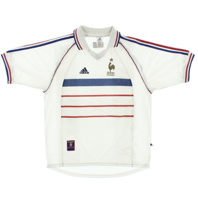 1998-00 France Away Shirt L