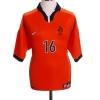 1998-00 Holland Home Shirt Davids #16 L