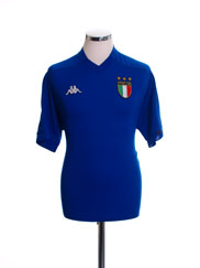 1998-00 Italy Home Shirt S