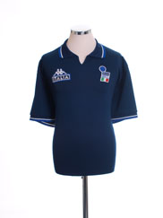 1998-00 Italy Kappa Polo Shirt XL