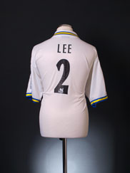 1998-00 Leeds Home Shirt Lee #2 L