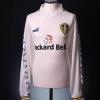 1998-00 Leeds Home Shirt Radebe #5 L/S S